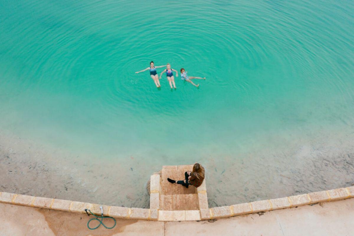 Wave Rock Resort Salt Pool via Australia's Golden Outback