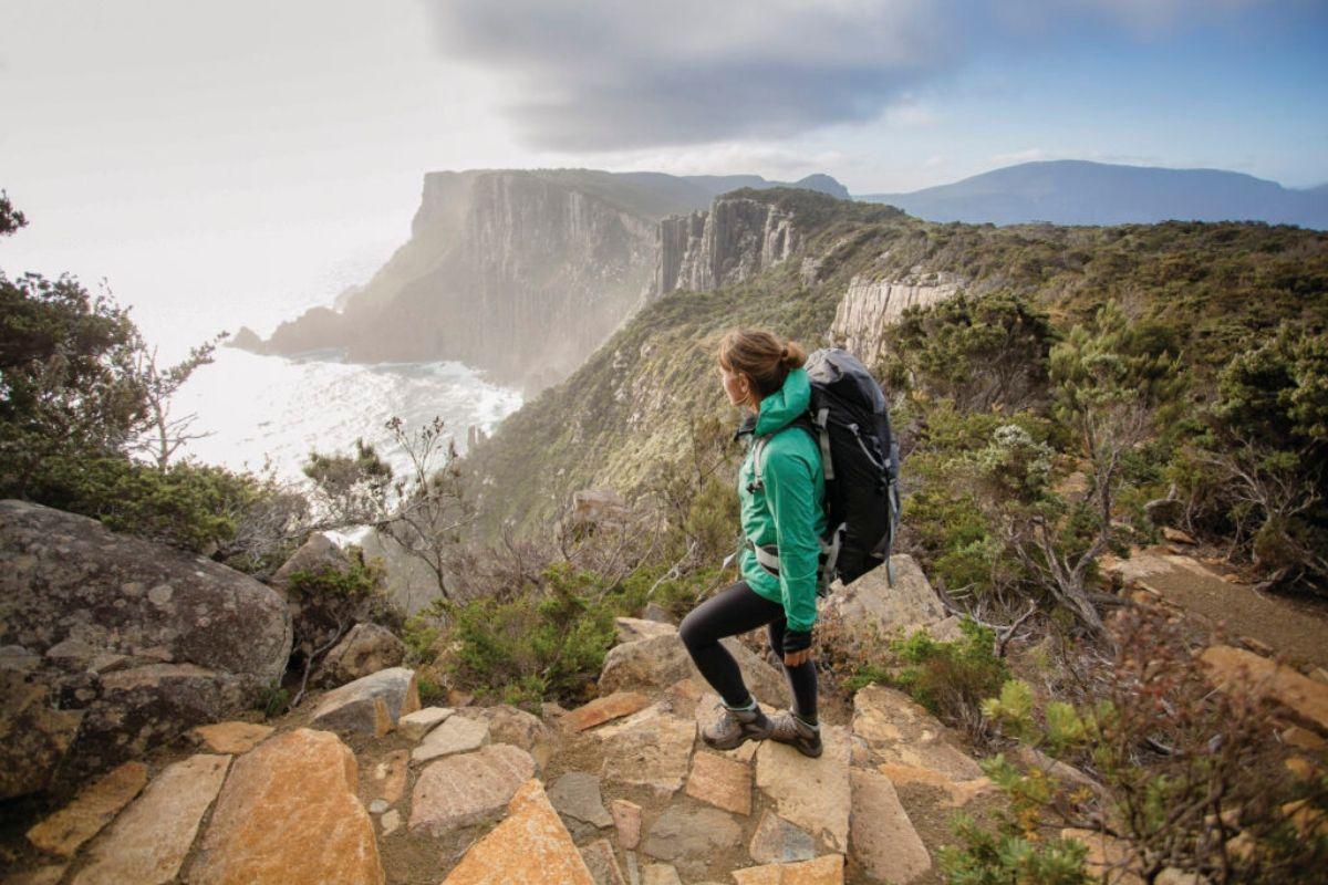 Image: Tasman Peninsula via Tasmanian Parks and Wildlife Service
