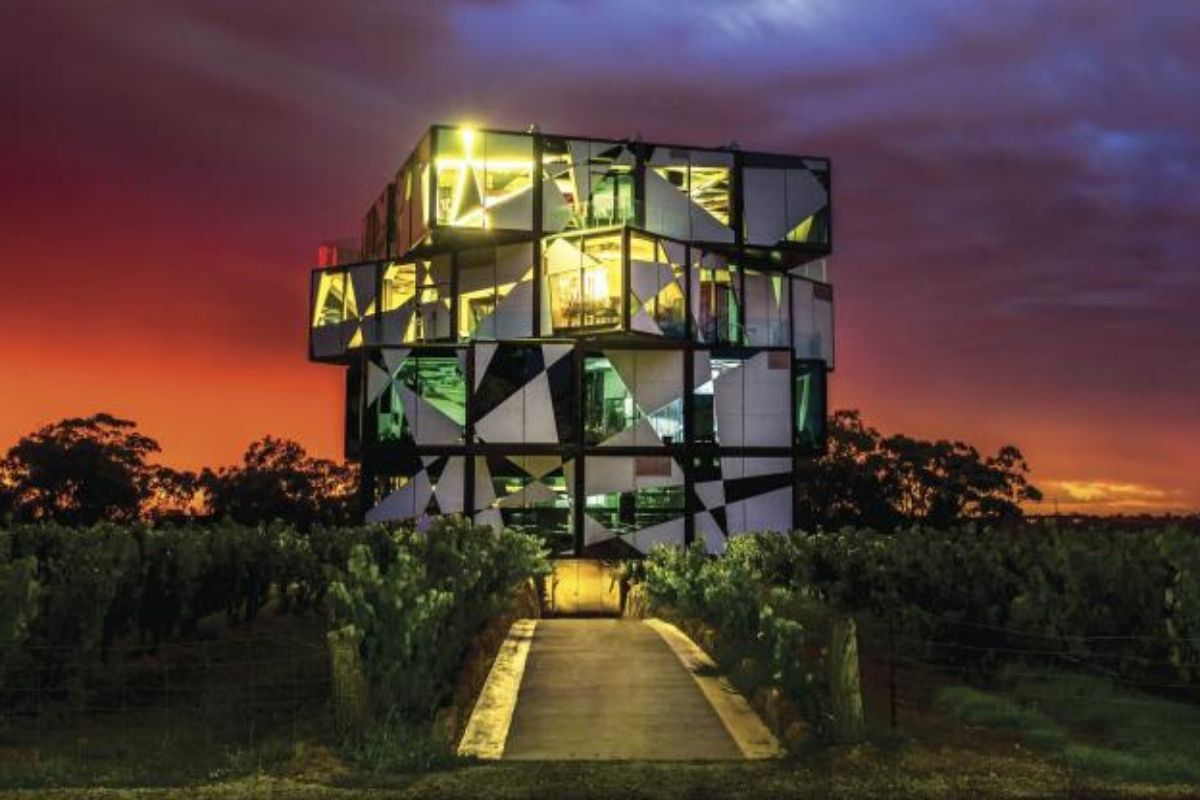 d'Arenberg Cube, McLaren Vale, South Australia